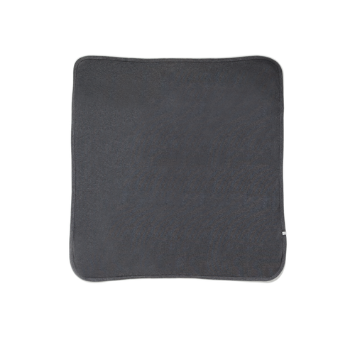 Dark Grey Brushed Blanket