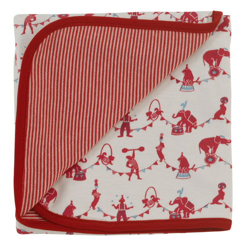 Red Circus Organic Cotton Blanket