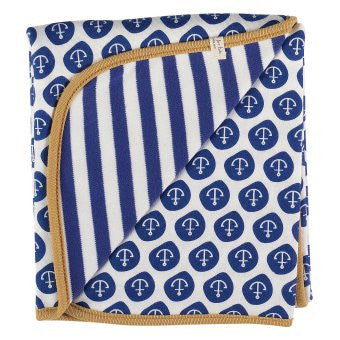 Pigeon Reversible Nautical Blanket