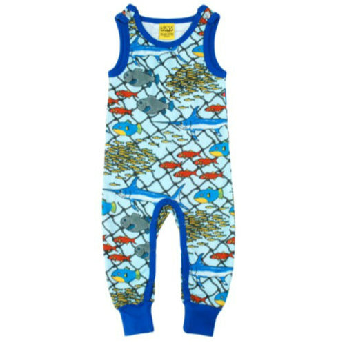 Escape Under the Sea Organic Cotton Dungarees