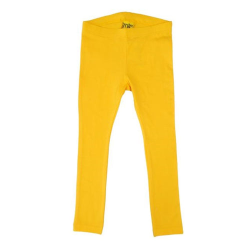 More Than a Fling Yellow Leggings