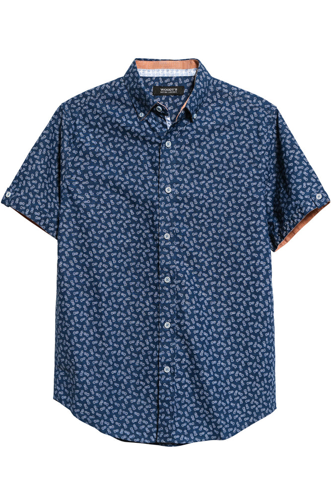 Pineapple Short Sleeve Shirt