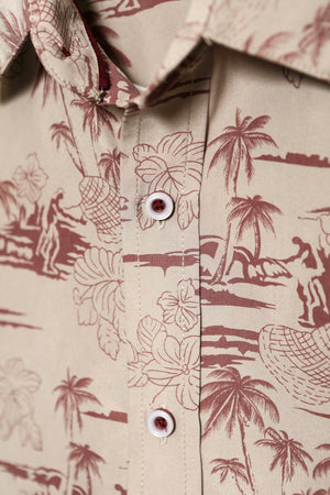 Slim Fit Island / Hawaiian Shirt