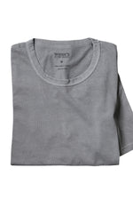 Organic Cotton Crewneck T-Shirt - Dark Grey