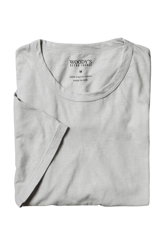 Organic Cotton T-Shirt - Light Grey