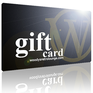 Premium Menswear : Gift Card $100 - Gift Card - Woody's Retro Lounge