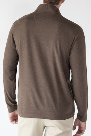 Premium Menswear : Deanville Quarter-Zip Funnel Neck Sweater - Knitwear - Woody's Retro Lounge