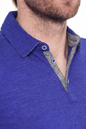 Premium Menswear : Quanah Marble Classic Polo - Polos - Woody's Retro Lounge