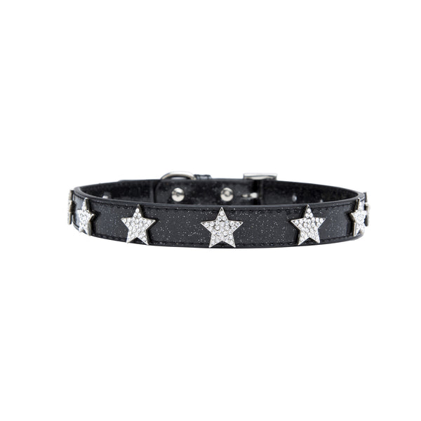 Bling Dog Collar - Star