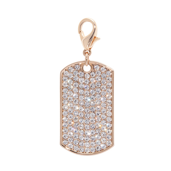 Bling Dog Tag Pet Charm