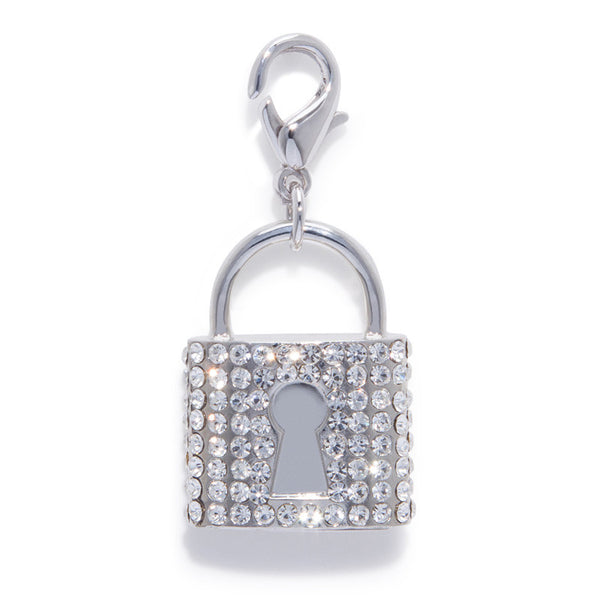 The Bling Lock Pet Charm