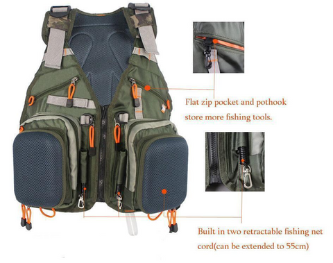 Fishing, Hunting, Horseback Riding, Photography VestPack