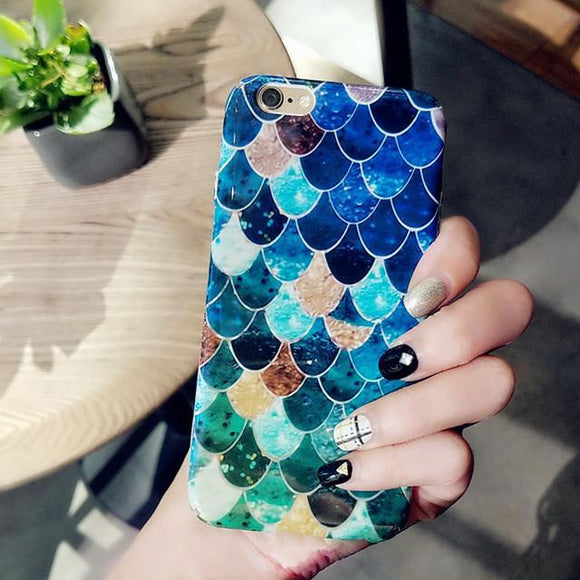 3D Scales Hard Plastic Case For iPhone - BuyGearNow