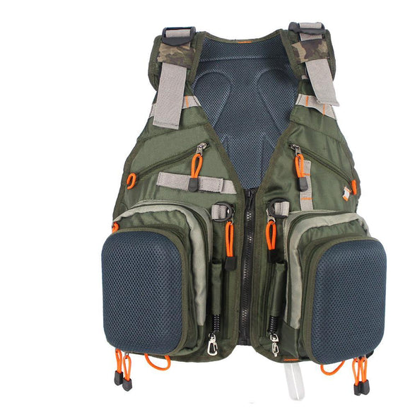 BGN Fishing VestPack™ - Water Resistant-A must for any serious angler - BuyGearNow