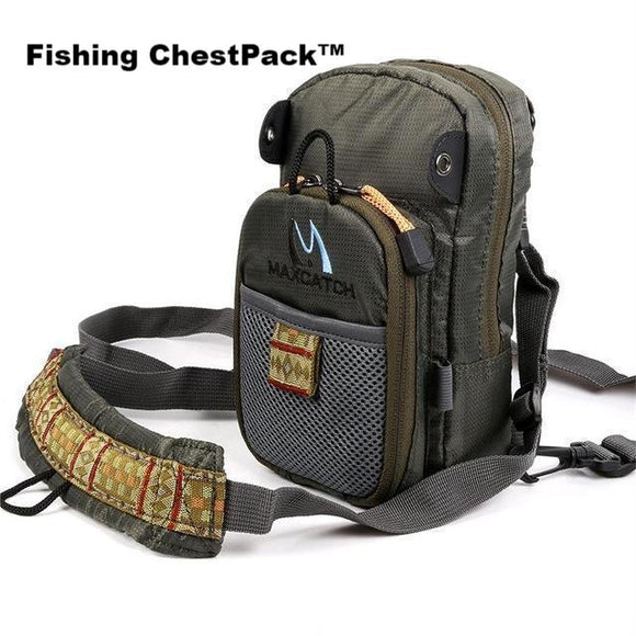 BGN Fishing Chest Pack™-Great for Fly Fishing - BuyGearNow