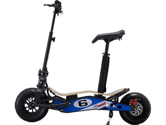 MotoTec MiniMad 800w 36v Lithium Electric Scooter - BuyGearNow