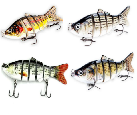 World's Best Fishing Lure (4 Pack)