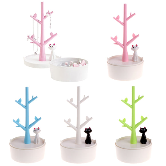 Kitty Cat Jewelry Tree Display-Too Cute! - BuyGearNow
