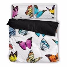 Butterfly Bedding Set-Duvet Cover and Pillow Shams - BuyGearNow