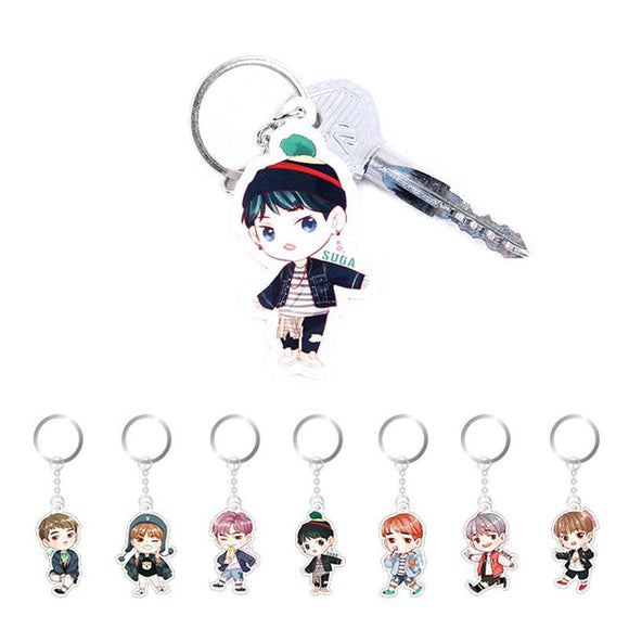 BTS Acrylic Keychain Giveaway-Celebrating 4 Years Together! - BuyGearNow