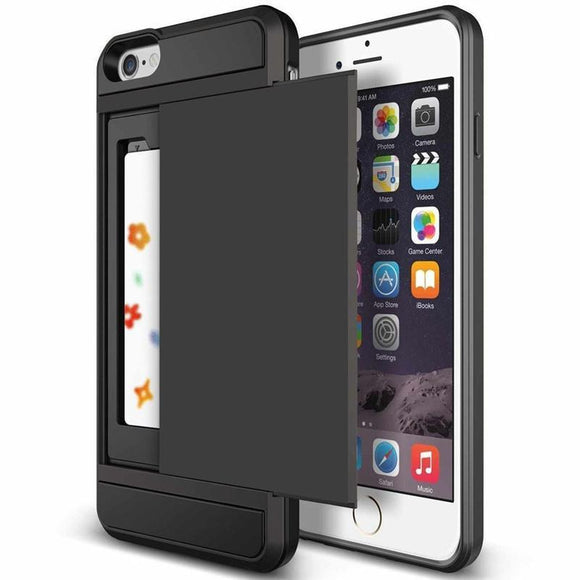 Card Holder Wallet  iPhone Case - BuyGearNow