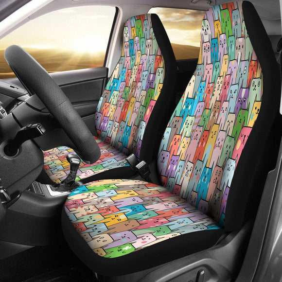 Cat Caravan Car Seat Covers - BuyGearNow