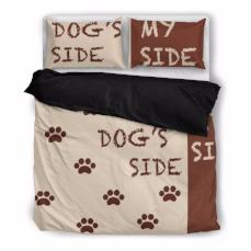 Dog's Side My Side Duvet Cover and Pillow Shams - BuyGearNow