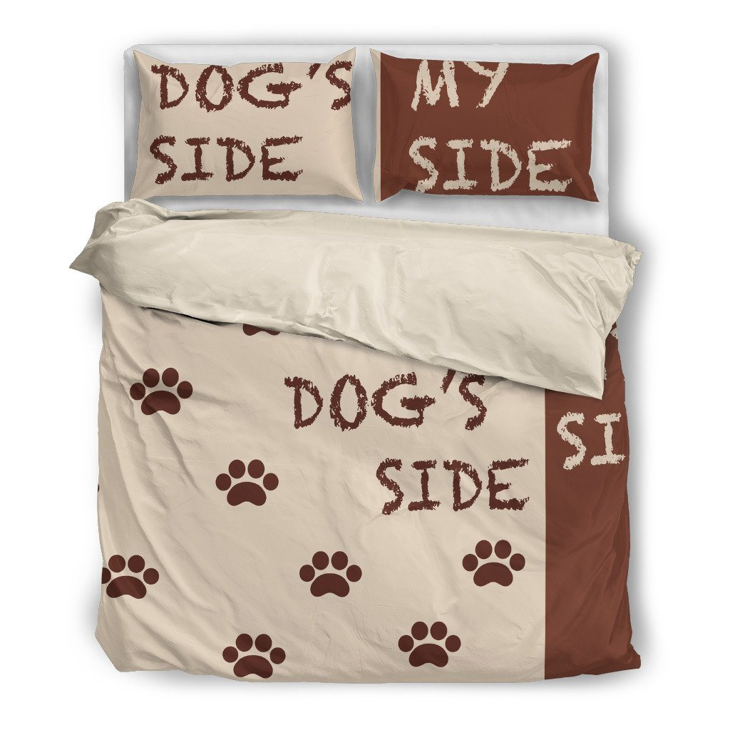 Dog S Side My Side Duvet Cover And Pillow Shams Buygearnow