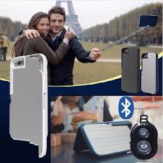 Multi-Functional Bluetooth Selfie Stick Case for iPhone - BuyGearNow