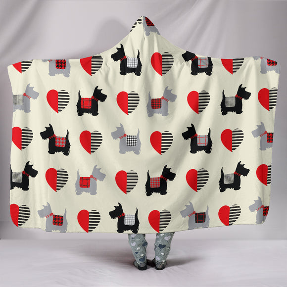 Scottish Terrier Lovers Hooded Blanket - BuyGearNow
