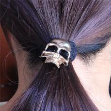 Skull Goth Punk Hair Band (Set of 4) - BuyGearNow