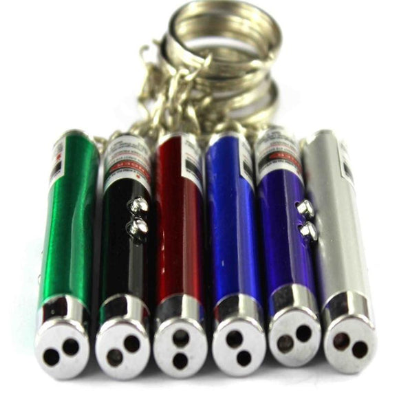 Laser Pen Pointer Mini Key Chain - BuyGearNow