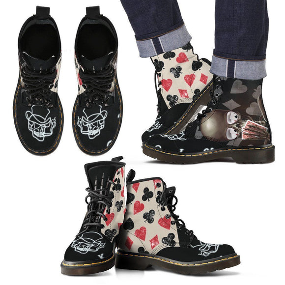 Love Poker To Death-Mens & Womens Boots - BuyGearNow