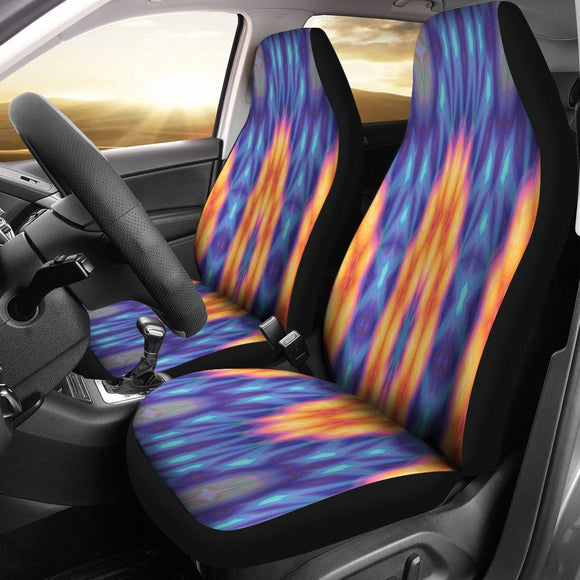 Neon Lights Car Seat Covers - BuyGearNow