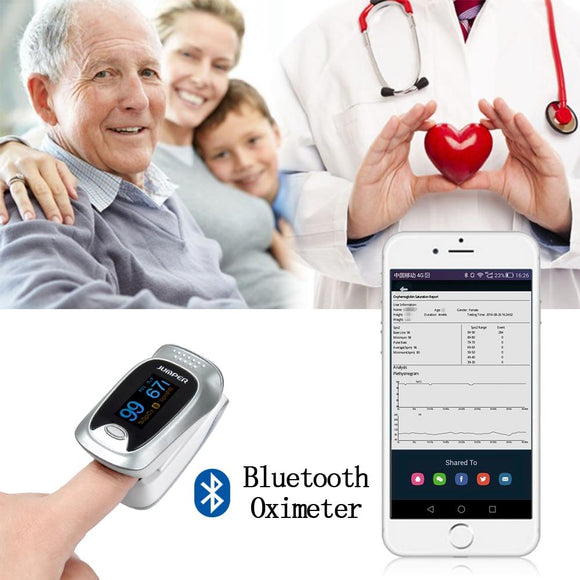 Bluetooth Finger Pulse Oximeter - BuyGearNow