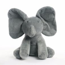 Peek A Boo Interactive Elephant Plush Toy - BuyGearNow