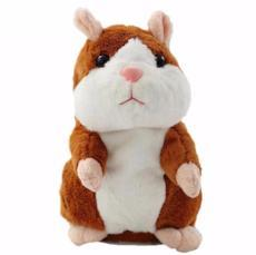 Talking Pet Hamster Plush Interactive Toy - BuyGearNow