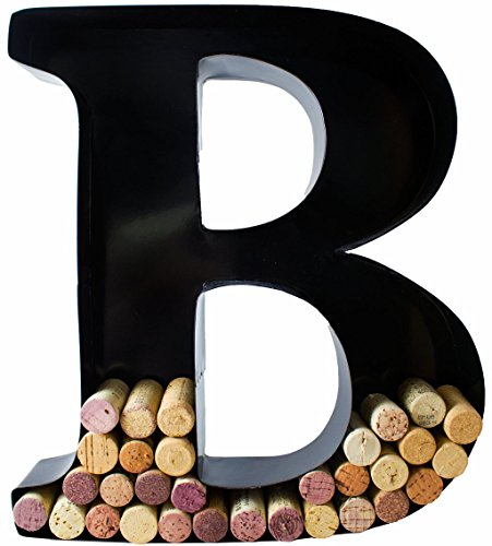 Put A Cork In It ™Wine Cork Display - Metal Monogram Letters-Choose Your Letter! - BuyGearNow