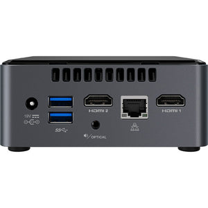 Intel NUC7CJYH Mini PC, Celeron J4005 2.0GHz, 8GB Ram, 256GB SSD, W10P