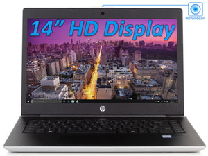 "HP ProBook 440 G5 14"" HD Laptop, i5-8250U, 8GB RAM, 128GB SSD, Win10Pro"