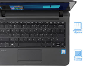 "HP ProBook 11 EE G2 Laptop, 11.6"" HD Touch, i3-6100U 2.3GHz, 8GB RAM, 1TB SSD, Win10Pro"