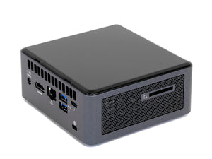 Intel NUC10i5FNH, i5-10210U, 8GB RAM, 256GB SSD +1TB HDD, Windows 10 Pro