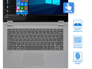 "Lenovo FLEX 6 2-in-1 Laptop, 14"" IPS FHD Touch, 7 2700U, 16GB RAM, 256GB NVMe SSD, Win10Home"