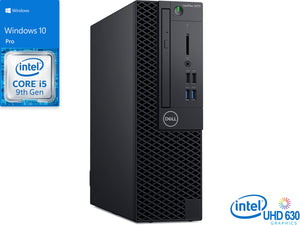 Dell OptiPlex 3070, i5-9500, 32GB RAM, 512GB SSD +1TB HDD, DVDRW, Windows 10 Pro