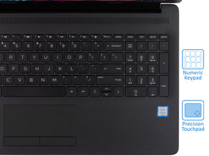"HP 15.6"" HD Laptop, i3-8130U, 16GB RAM, 256GB SSD, DVDRW, Win 10 Home"
