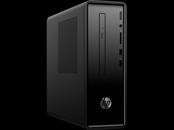 Refurbished HP Slimline 290 Intel i7-8700 16GB RAM 256GB SSD DVD-RW Wi-Fi BT Windows 10 Pro