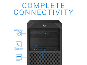 HP z2 G4, Xeon E-2176G, 64GB RAM, 512GB SSD +1TB HDD, Quadro P1000, Windows10Pro