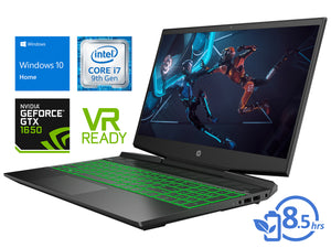 "HP 15, 15"" FHD, i7-9750H, 16GB RAM, 512GB SSD, GTX 1650, Windows 10 Home"