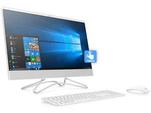 "HP Pavilion 24"" FHD AIO Touch PC, i3-8100T 3.1GHz, 8GB RAM, 256GB SSD, Win10Pro"