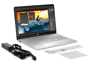 "HP 15, 15"" HD Touch, R7 3700U, 32GB RAM, 256GB SSD, Windows 10 Home"